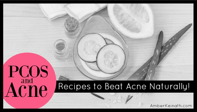PCOS + Acne: 3 Best Mask Recipes to Beat Acne Naturally!